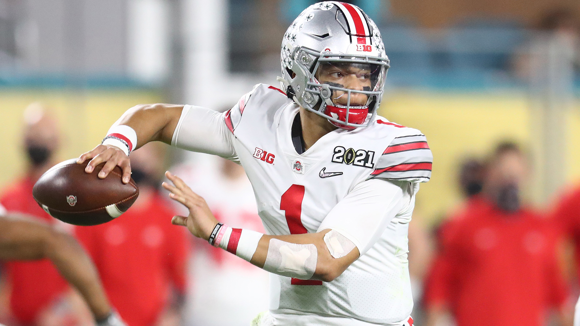 Image result for justin fields